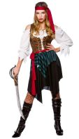 Budget Caribbean Pirate Costume (EF2157)
